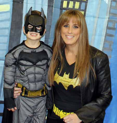 ther-Son Superhero Dance at Anderson Parks RecPlex