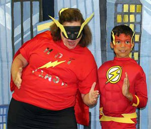 Mother-Son Superhero Dance at Anderson Parks RecPlex