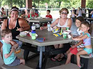 Grilled Cheese Wednesday and Summer Shazaam Series at Beech Acre Park