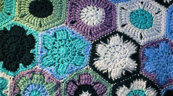 crocheted afghan blanket