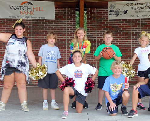 summer day camp dance competition