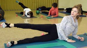 pilates mat mix class