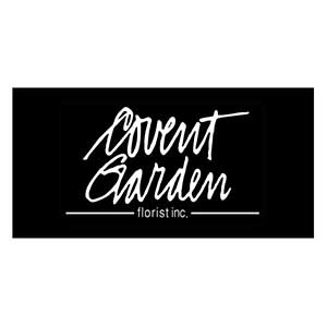 covent garden logo black and white