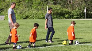 instructional soccer: mini kicks for boys and girls