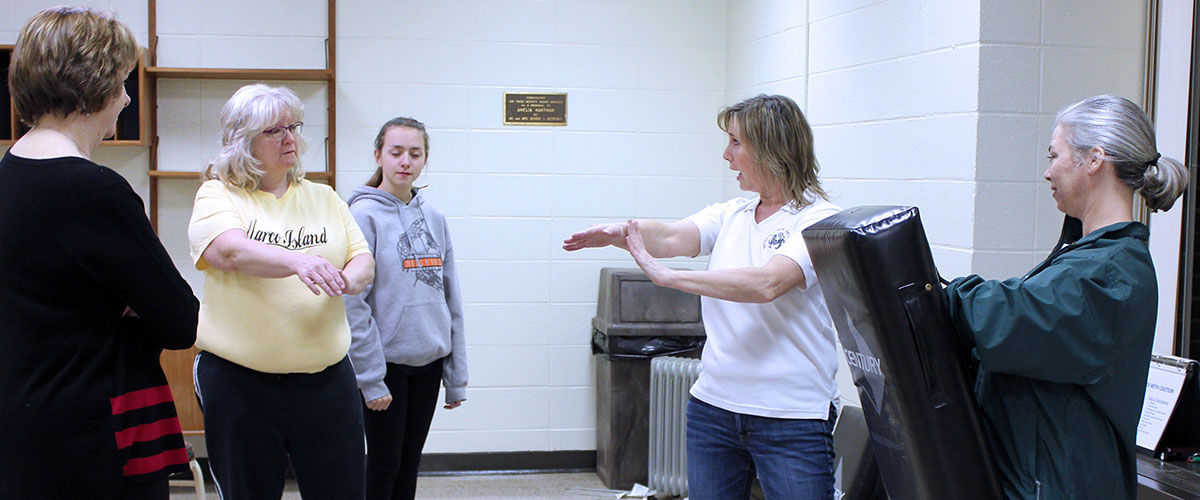 women's self-defense workshops teach prevention and physical skills