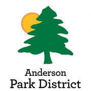 anderson parks logo with tree and sun