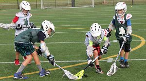 beginner lacrosse camp for boys and girls at riverside park all weather fields