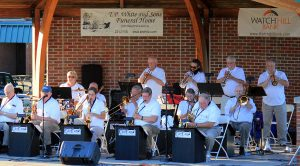 monday night big band performs at concert series at beech acres park