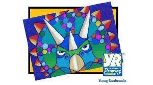 Young Rembrandts® Summer Drawing Camp: World of Dinosaurs Camp~Pastels