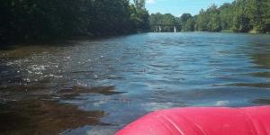 rrd raft on lake