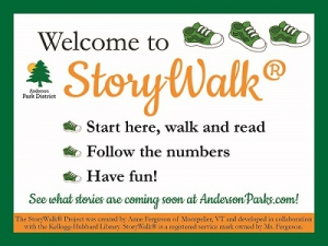 Welcome to StoryWalk! Start here, walk and read. Follow the Numbers. Have fun!